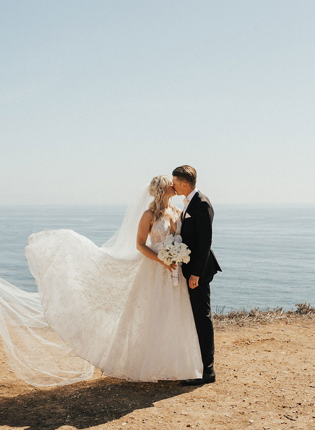 Wayfarers Chapel Wedding, Fairytale Wedding