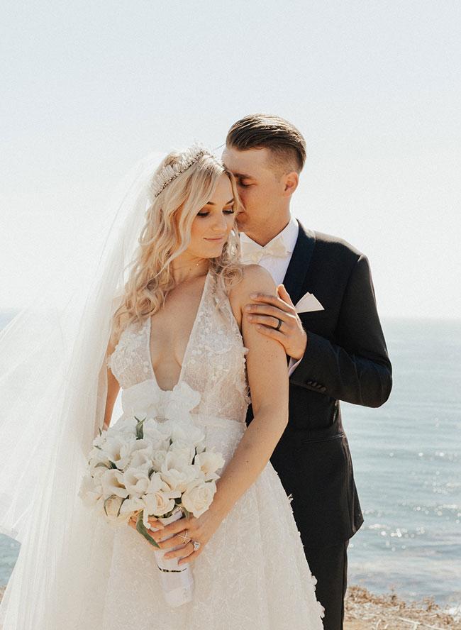 Wayfarers Chapel Wedding, Fairytale Wedding