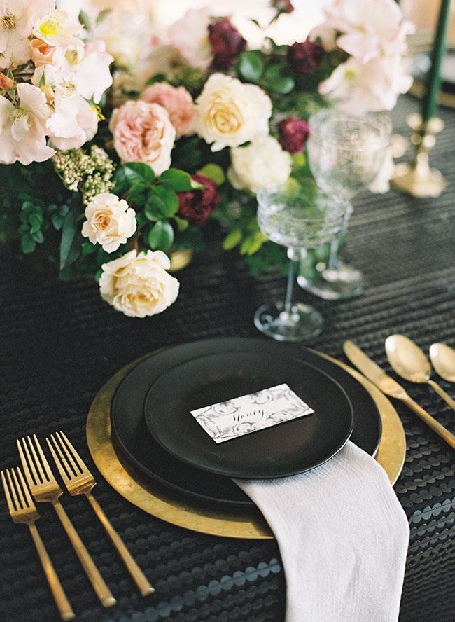 Elegant Dinner Party, Birthday Dinner Party