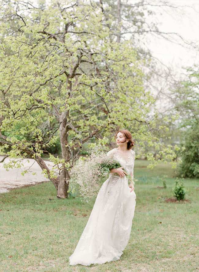 Vintage Wedding Inspiration with Ally Rahal - Inspired by This