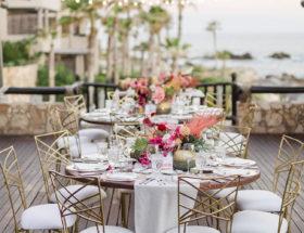 Pink and Green Wedding, Wedding in Los Cabos