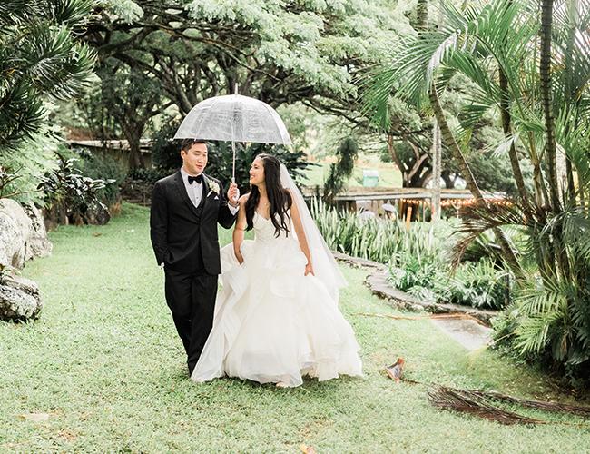 Rain on Your Wedding Day, Rainy Wedding Photos