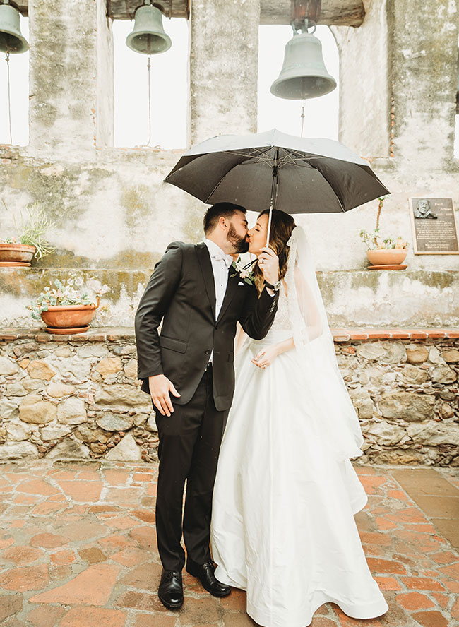 Rain on Your Wedding Day, Rainy Wedding Photos