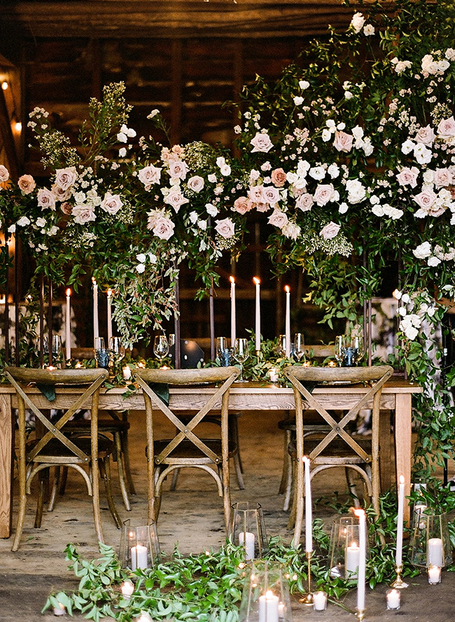 Rustic Barn Wedding, Rustic Floral Wedding