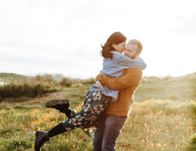 Super Bloom Engagement Photos, Poppy Fields