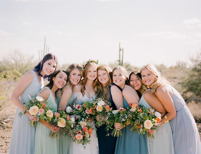 Coral Wedding, Copper Wedding