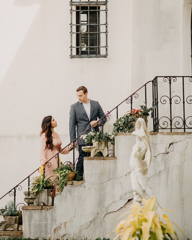Romantic Engagement Photos, Vanderbilt Museum
