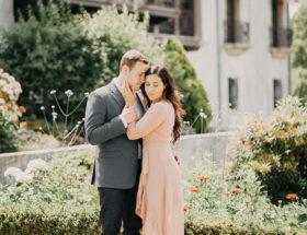 Romantic Engagement Photos, Vanderbilt Museum
