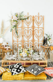 Trendy Easter Brunch, Modern Easter Decor