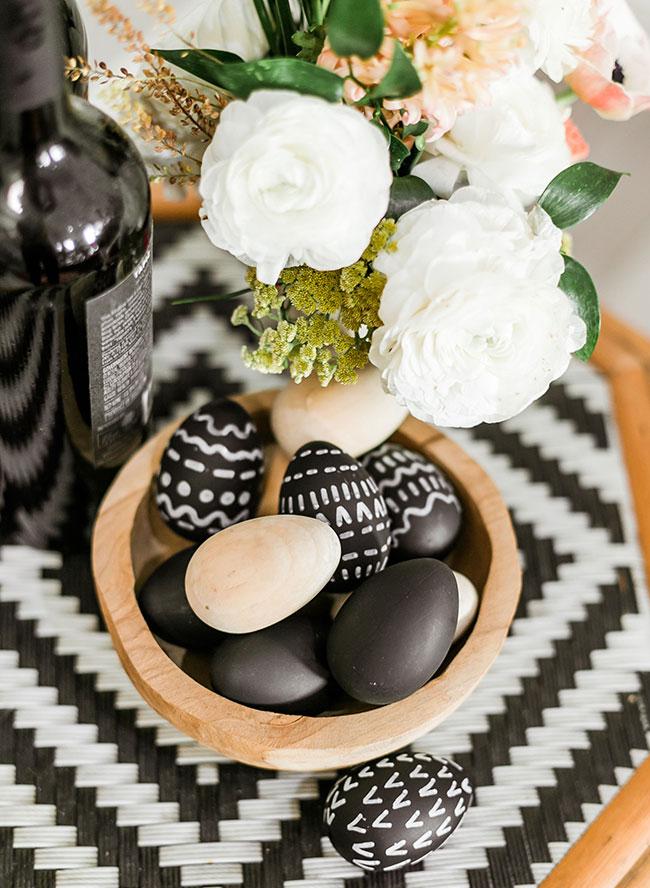 Trendy Easter Brunch, Modern Easter Decor