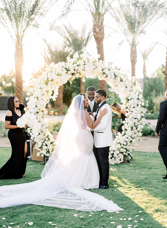 Modern Destination Wedding in Palm Springs