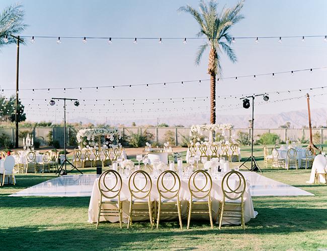 Modern Destination Wedding in Palm Springs