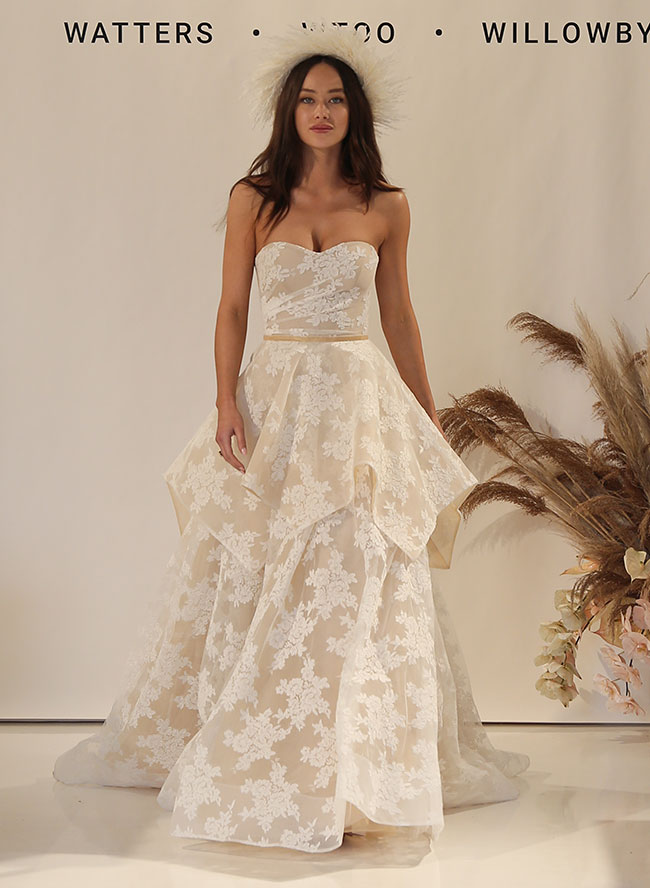 28933030d Show-Stopping Wedding Dresses From Bridal Fashion Week - Inspired By ...