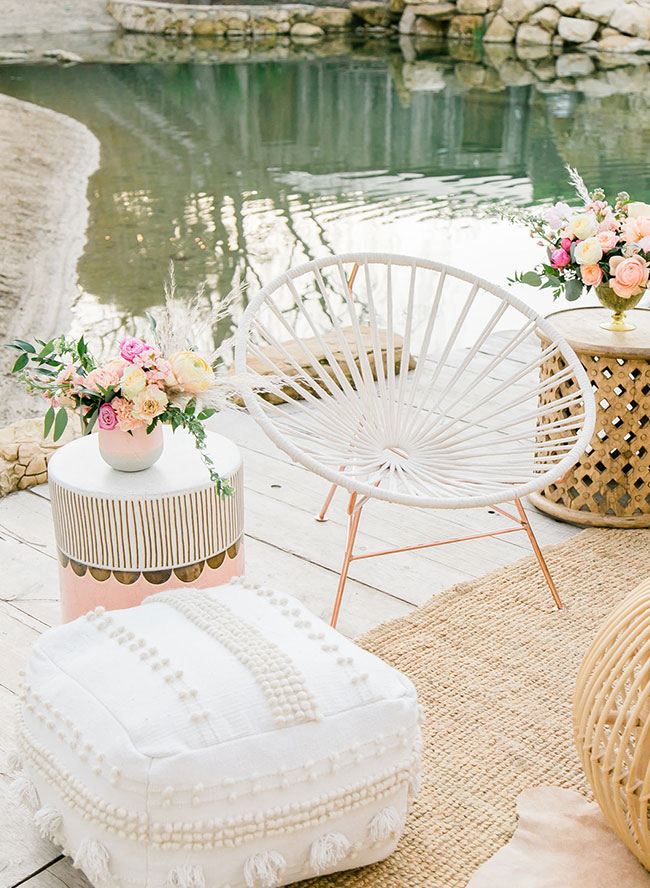 Sunset Inspired Boho Wedding Inspiration Inspired By This