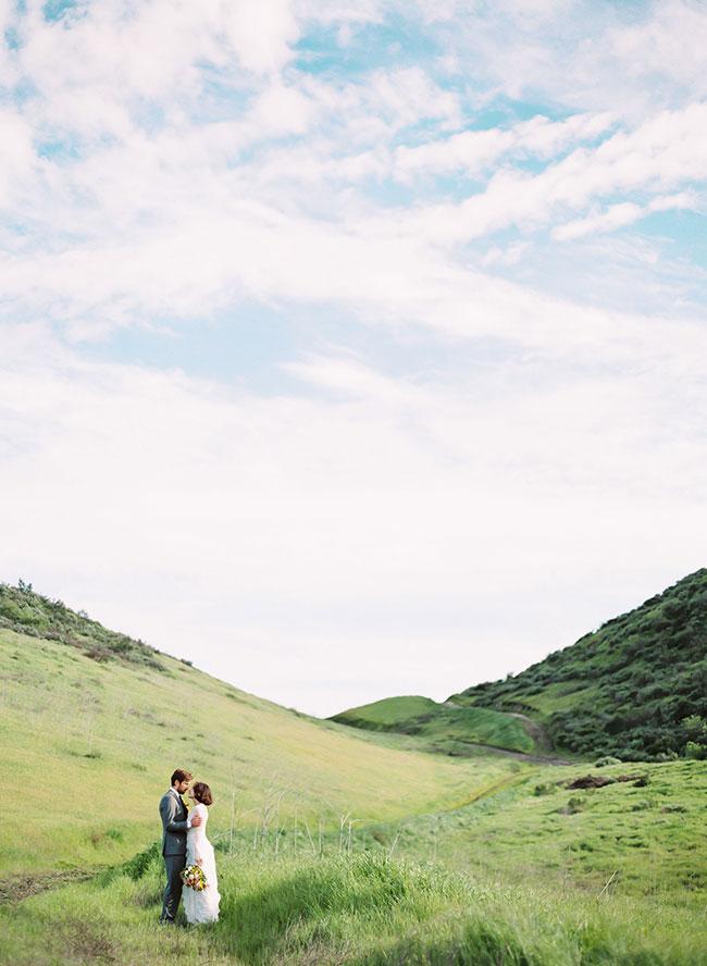 Stylish Spring Engagement Inspiration Shoot