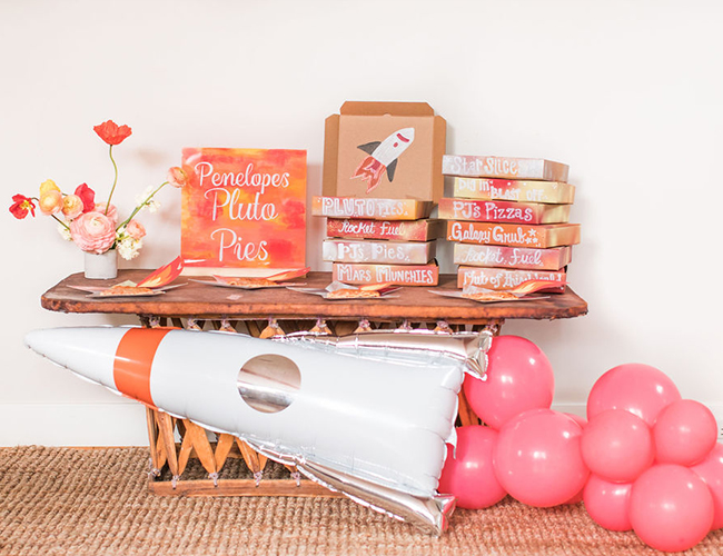 Rocket Birthday Party, DIY Birthday Party