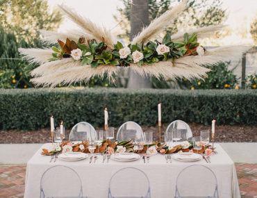Pampas Grass Wedding, Pampas Grass wedding decor