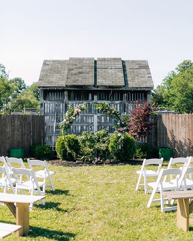 Greenhouse Wedding, summer wedding