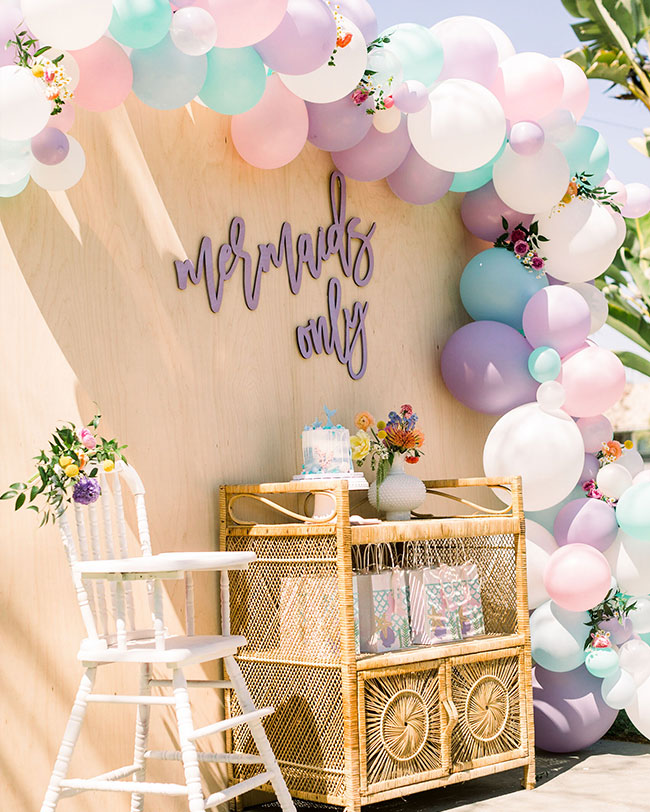 Mermaid Birthday Party - Inspired by This