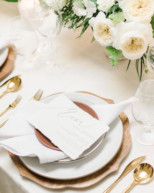 Elegant Tropical Wedding