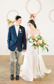 Modern Pastel Wedding Inspiration, Pastel Wedding Colors
