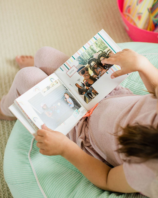 Creative Photo Book Idea, Mixbook