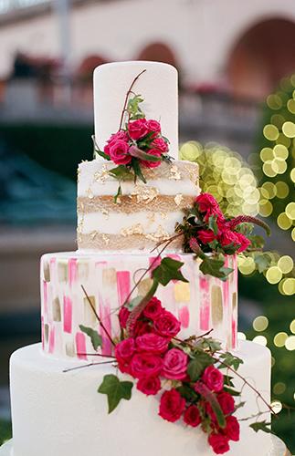 Ringling Museum wedding,Fuchsia Wedding