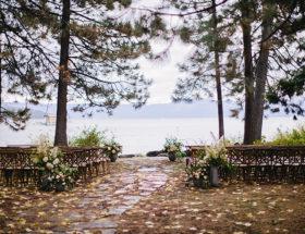 Lake Tahoe Wedding, Whimsical Forest Wedding