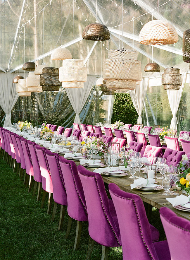 Lavender Dinner Party, San Ysidro Ranch