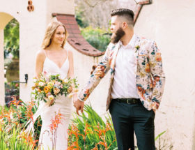 Peach Garden Wedding, Peach Wedding