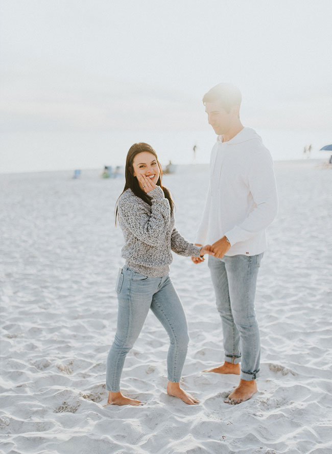 Proposal On The Beach in Seaside, Florida - Inspired by This