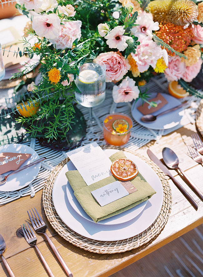 Boho Fiesta Dinner Party Inspiration - Inspired by This