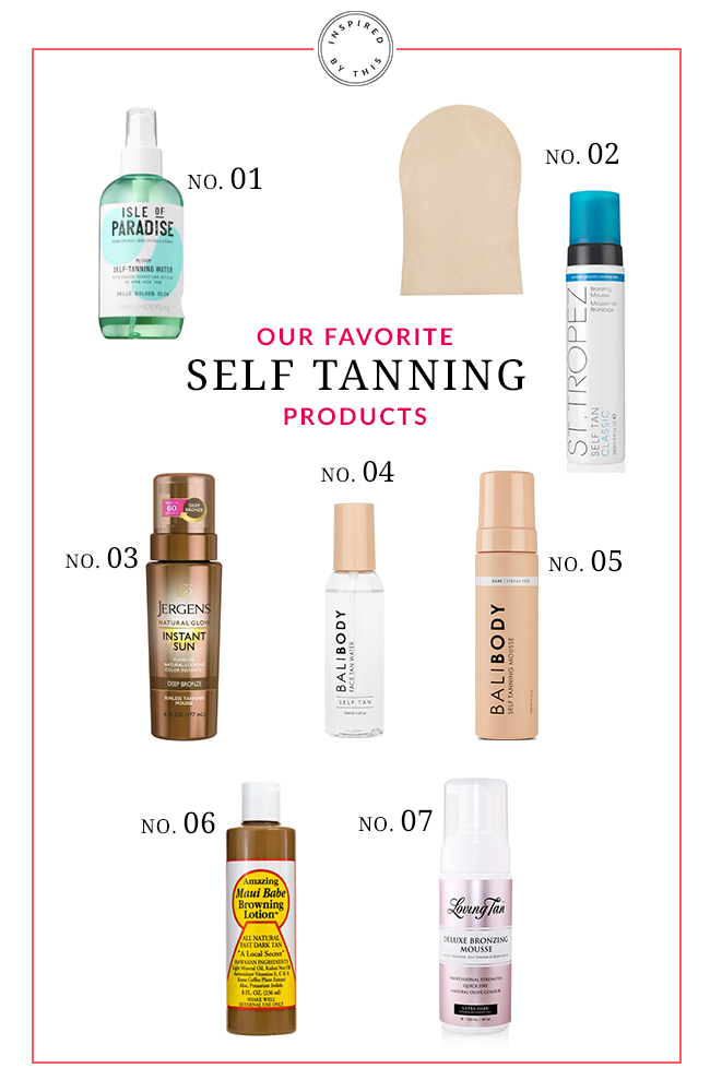Our Favorite Self-Tanning Products - Inspired by This