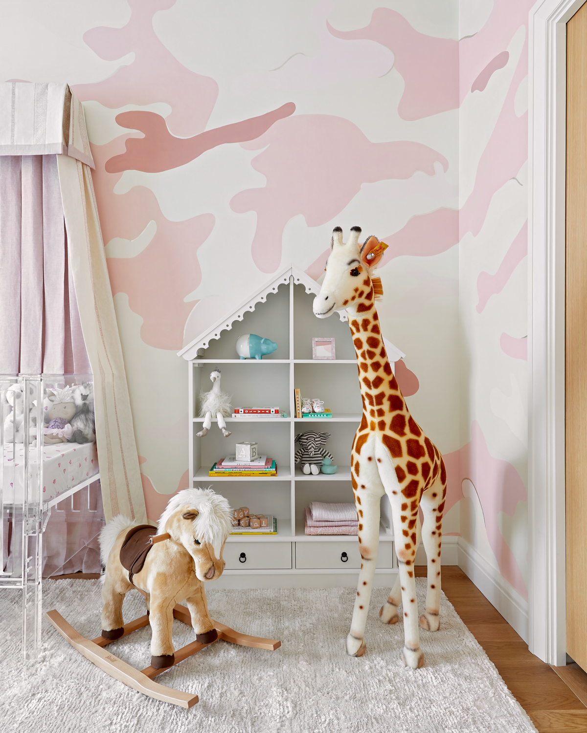 Rose Colored Camouflage Nursery - Inspired by This