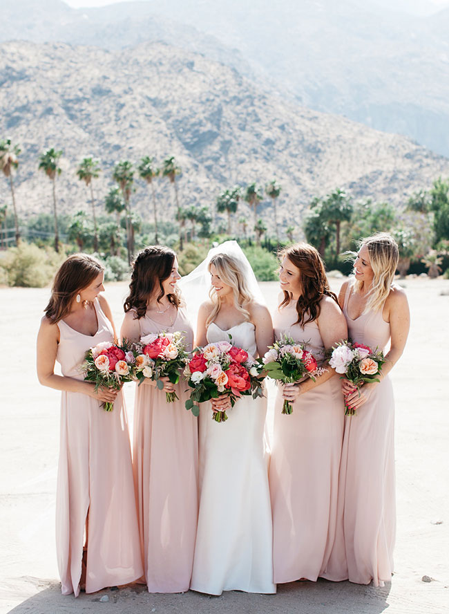 Pink Desert Wedding at Alcazar Palm Springs - Inspired by This