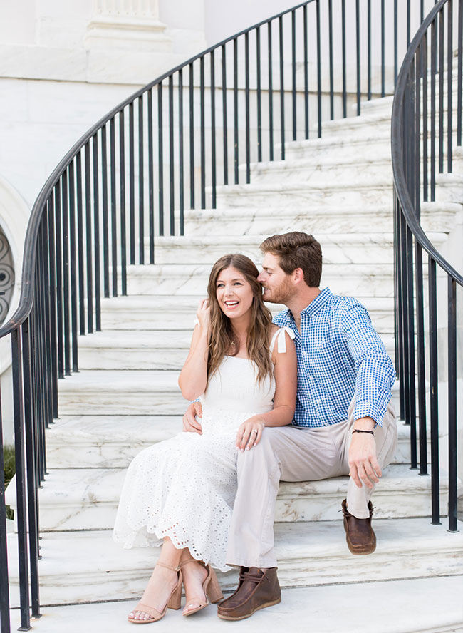 Downtown Charleston Engagement Photos - Inspired by This