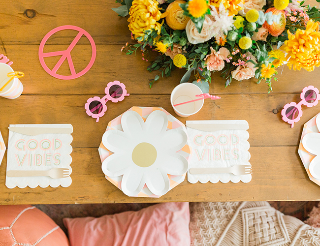 70s Birthday Party, Flower Power Birthday Party - Inspired by This