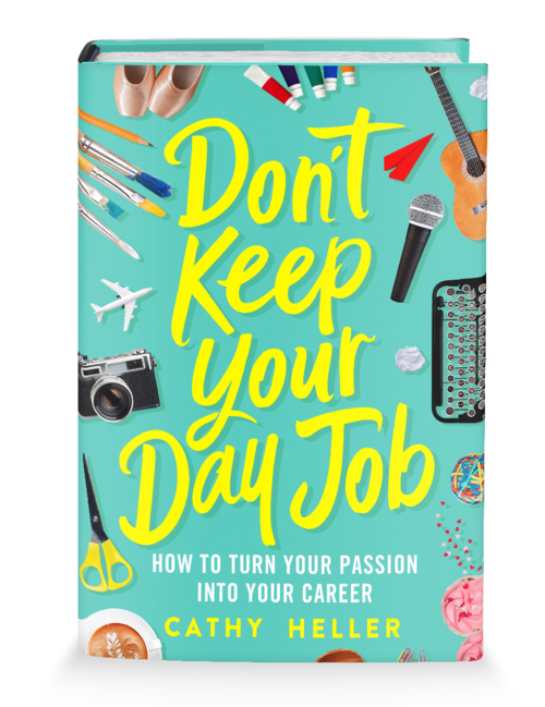 Cathy Heller of Don't Keep Your Day Job Podcast - Inspired by This
