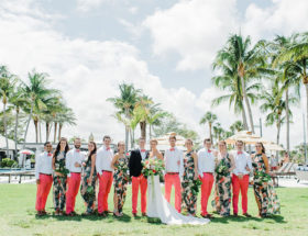 Coral Wedding, Tropical Wedding