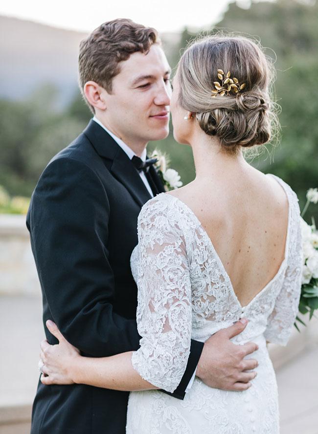 Neutral Book Themed Wedding, Wedding in Carmel