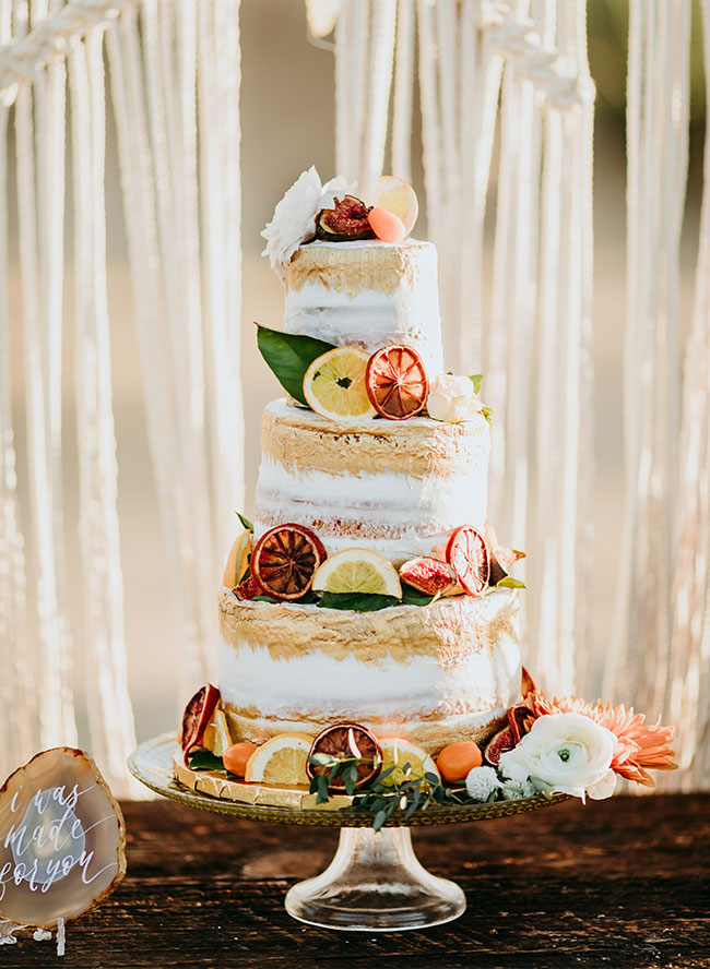 16 Vibrant Unique Summer Wedding Cakes Inspired By This