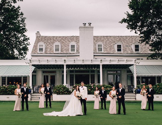 Timeless Wedding, Rumson Country Club Wedding