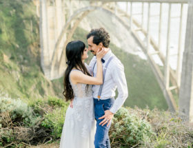 Beach Vow Renewal in Big Sur - Inspired by This