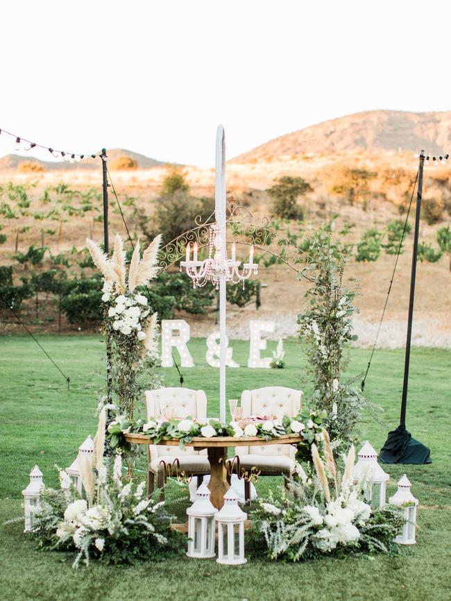 Classic Al Fresco Wedding, Wedding at Triunfo Creek Vineyards