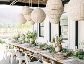 Summertime Vineyard Dinner Party - Inspired by This