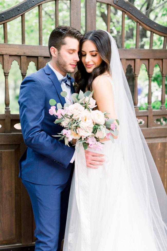 Neutral Garden Wedding at El Chorro - Inspired by This