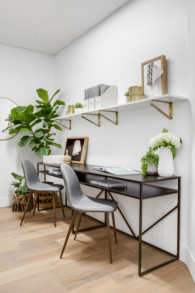 modern coastal office