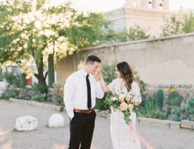 engagement at san xavier mission
