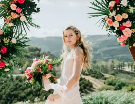 Summer Wedding Hairstyles, Weatherproof Summer Bridal Beauty Looks