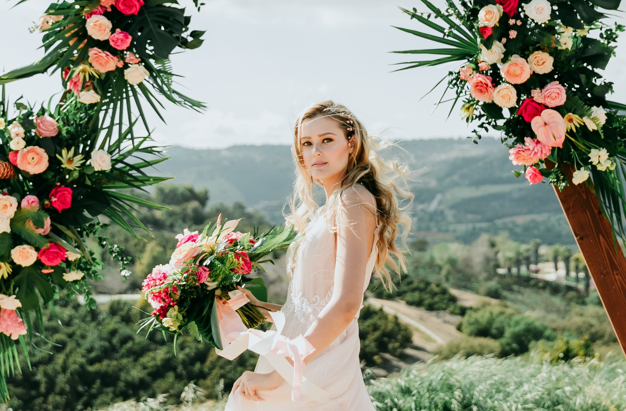 Weatherproof Summer Bridal Beauty Looks